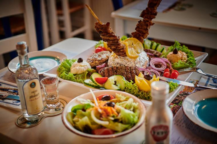Traditionelle Fleischgerichte aus Griechenland